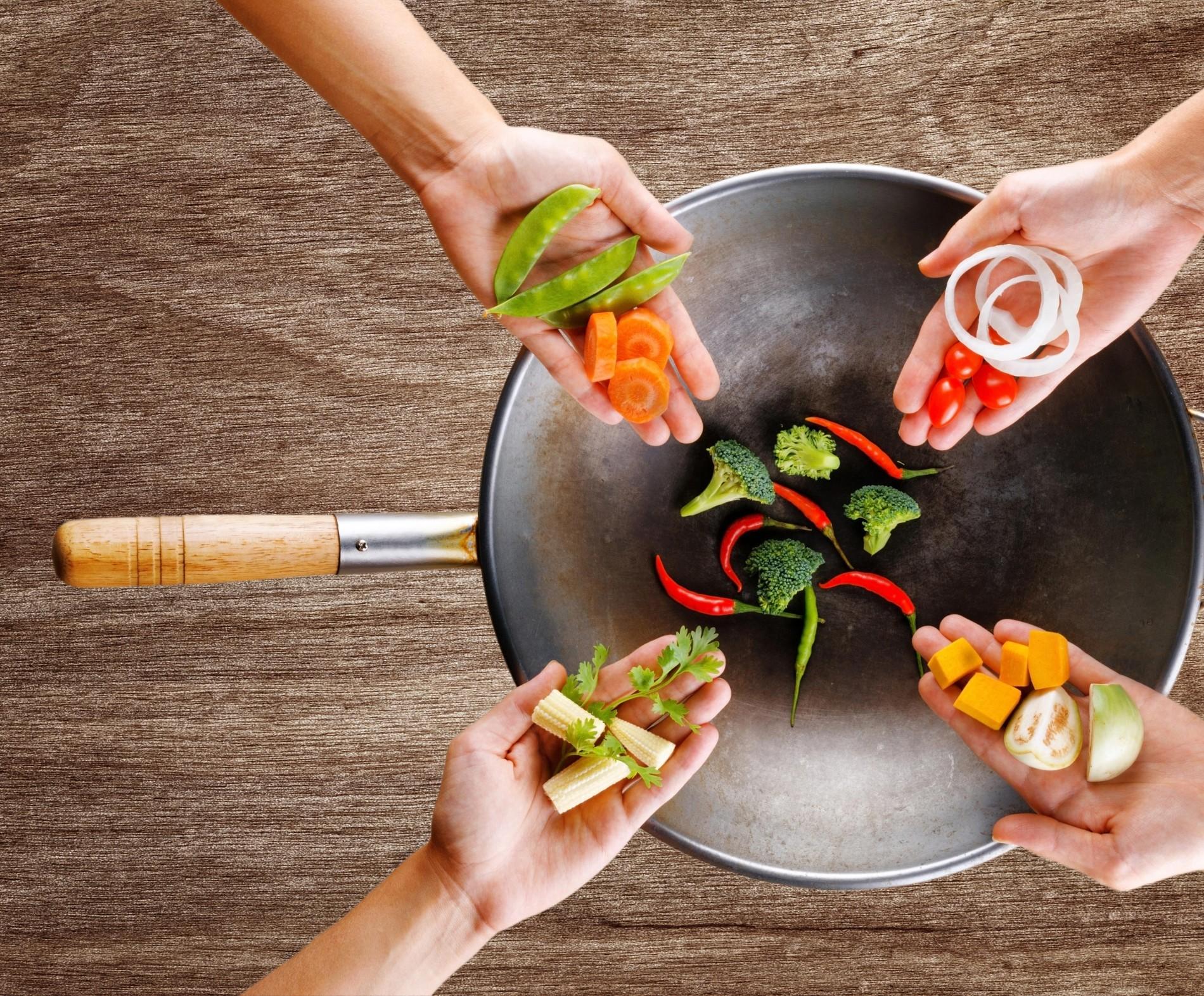 In der 5 Elemente Küche kommt es auf die richtige Zubereitung an